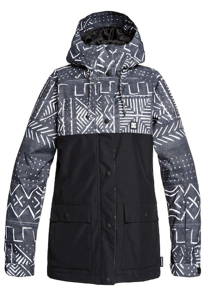 Jacken - Snowboardjacke 'Cruiser' › DC Shoes › schwarz grau weiß  - Onlineshop ABOUT YOU