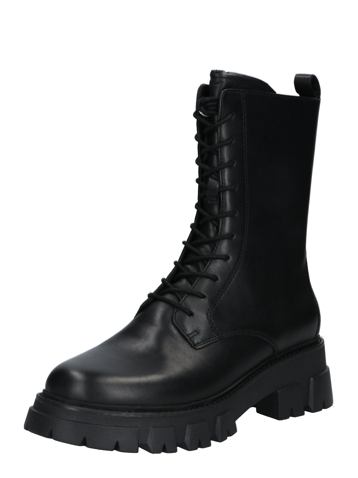 ASH Suvarstomieji batai juoda