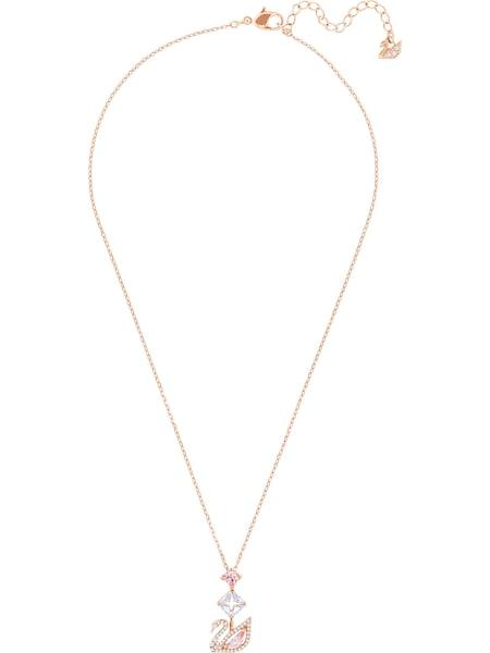 Ketten für Frauen - Swarovski Kette 'Dazzling Swan' rosegold  - Onlineshop ABOUT YOU