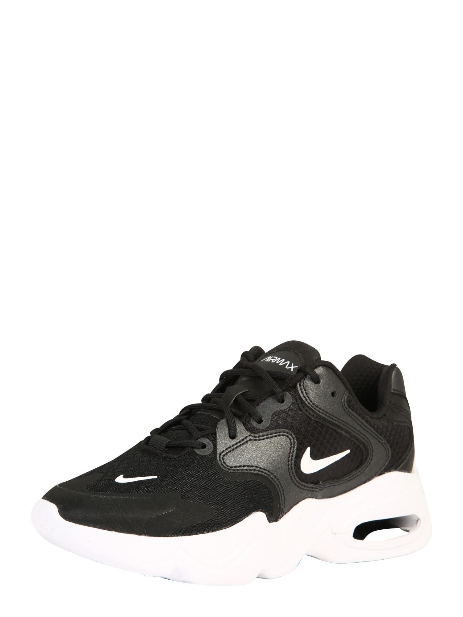 Nike Sportswear Nízke tenisky 'Air Max Advantage 4'  biela / čierna