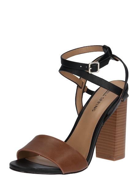 Highheels für Frauen - CALL IT SPRING High Heel Sandalette 'PALEWIA' cognac dunkelbraun  - Onlineshop ABOUT YOU