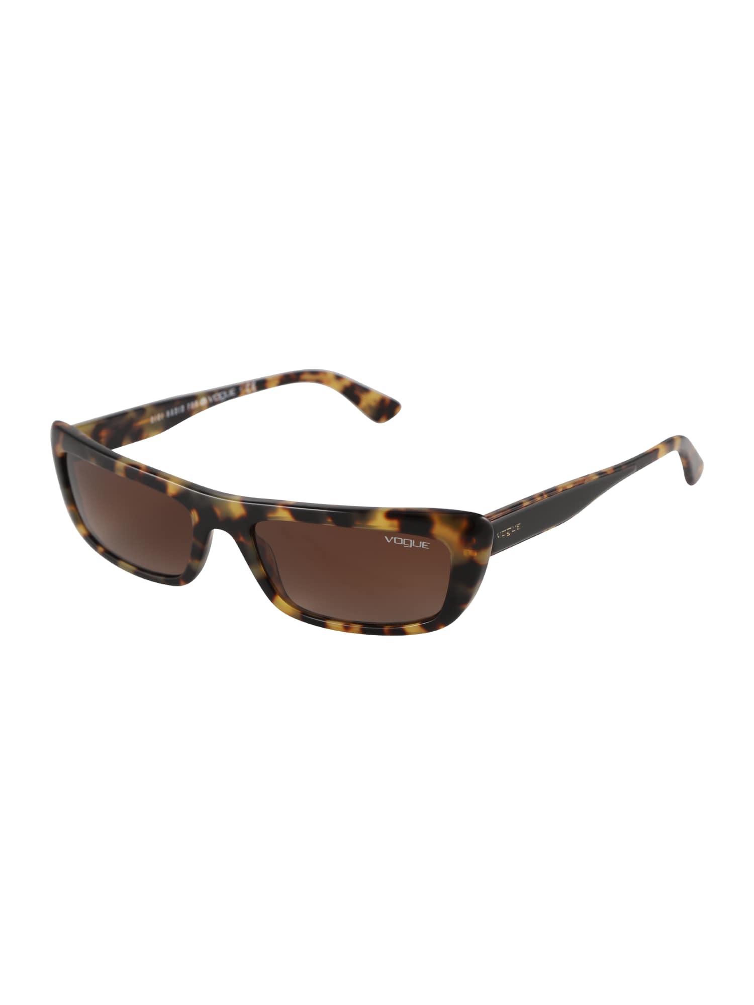 Sluneční brýle BELLA hnědá žlutá VOGUE Eyewear