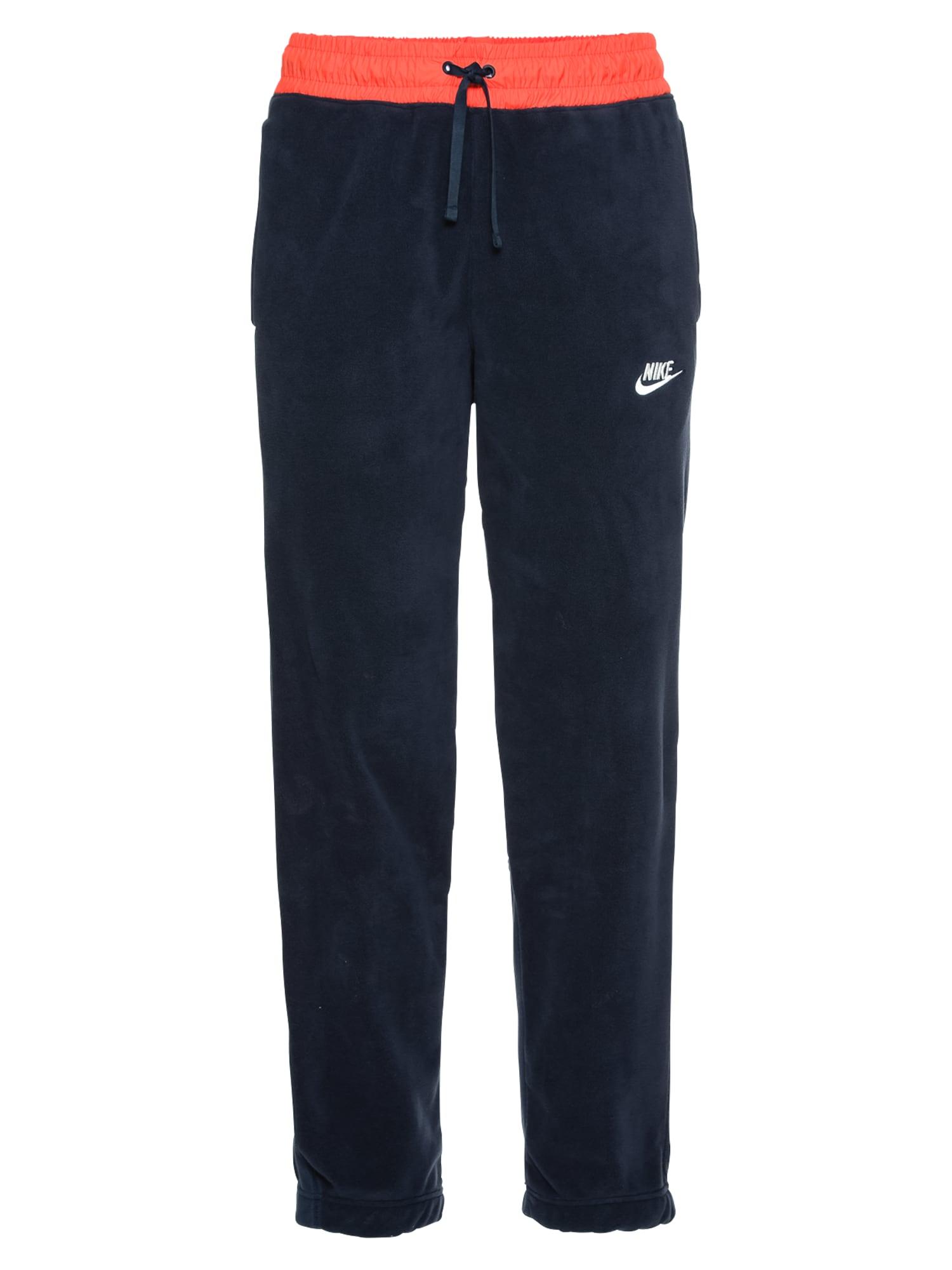 Kalhoty CF CORE WNTR SNL tmavě modrá červená Nike Sportswear