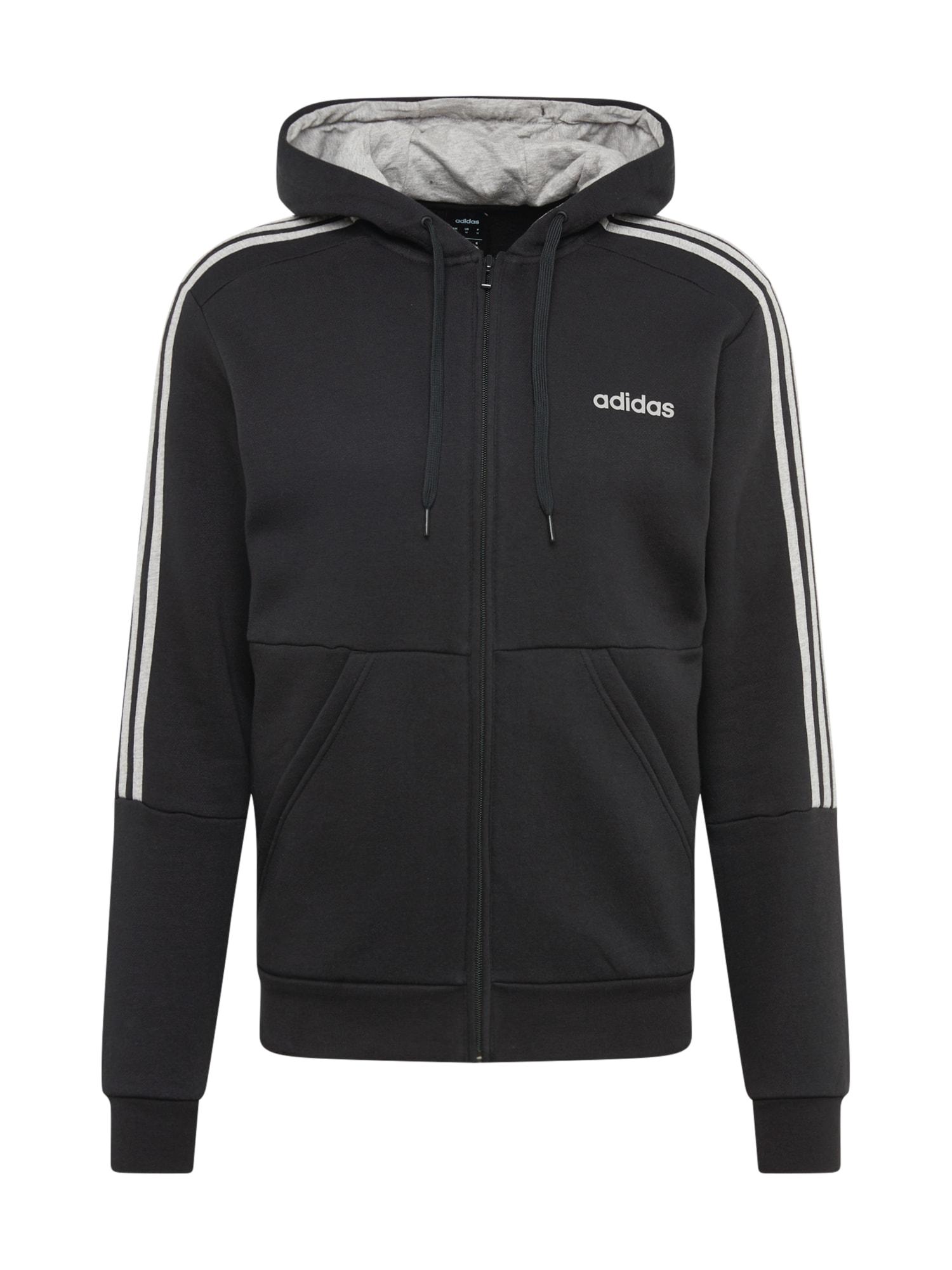 ADIDAS PERFORMANCE Sportinis kostiumas juoda / pilka