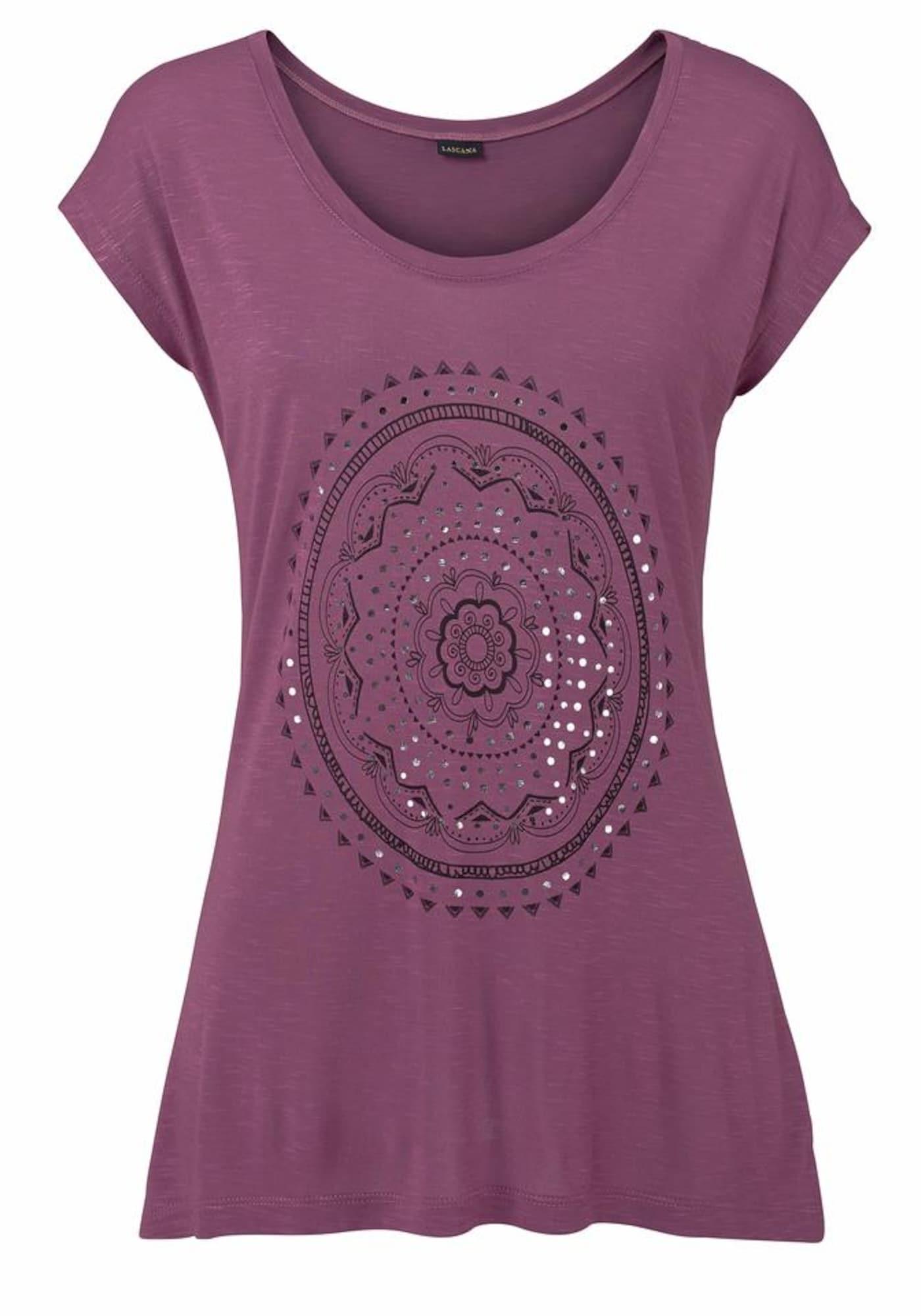 LASCANA Tričko  fialová