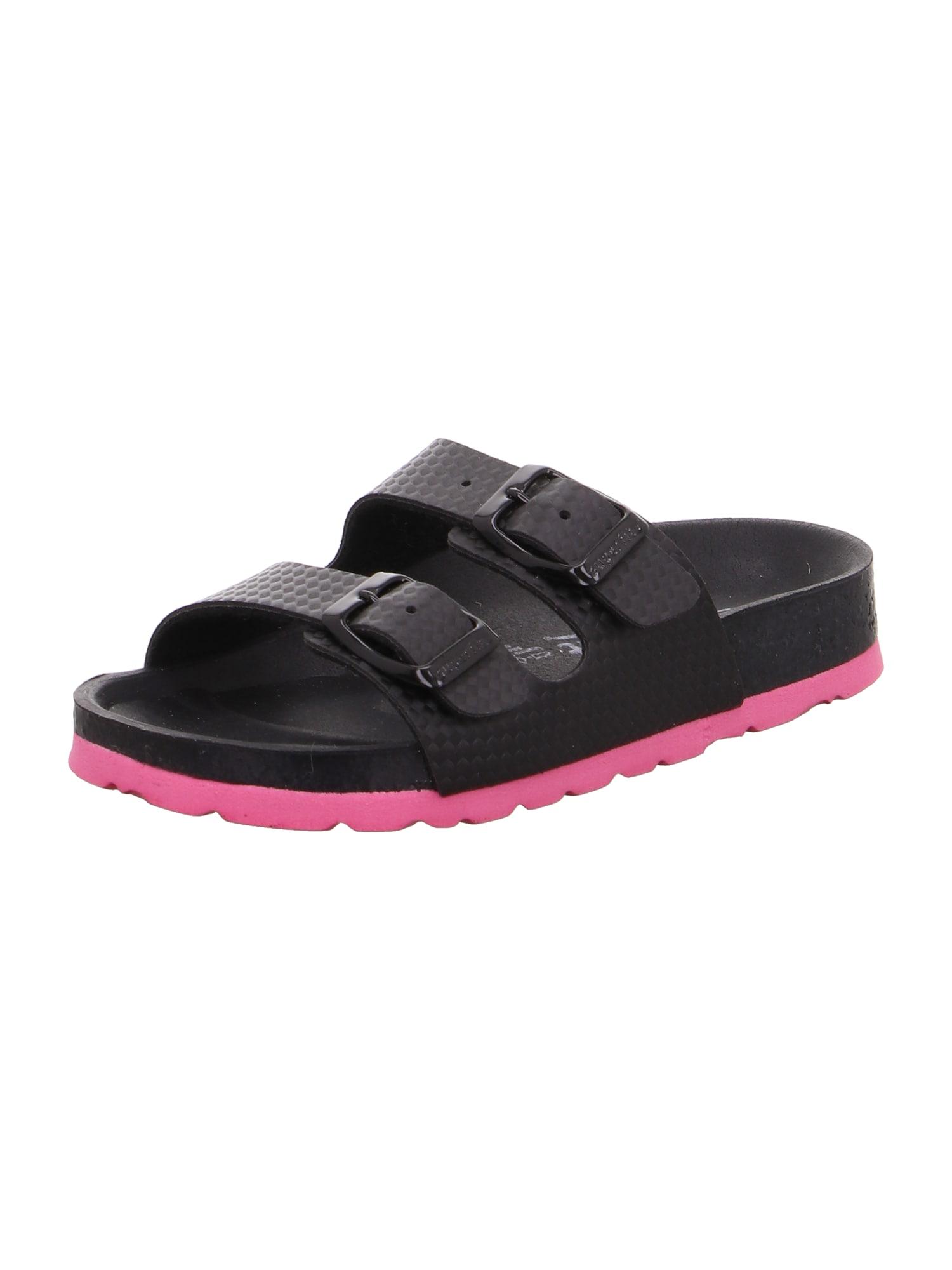 SUPERFIT Sandalai juoda