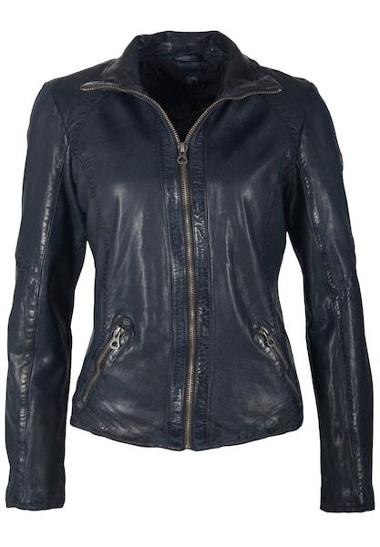 Jacken für Frauen - Gipsy Lederjacke 'LENIE LVTW' navy  - Onlineshop ABOUT YOU