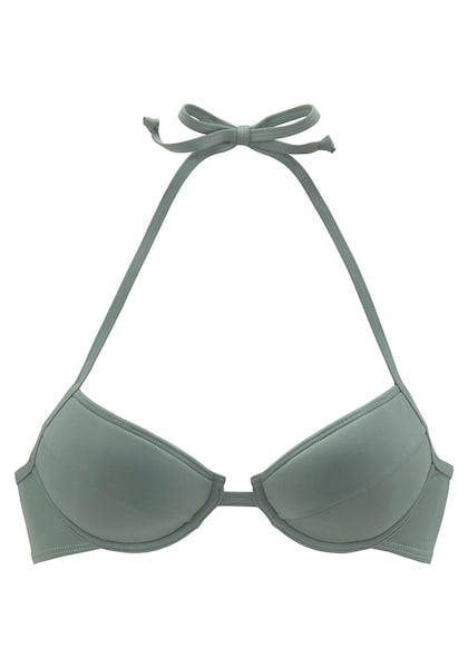 Bademode - Push up Top 'Perfect' › Bench › oliv  - Onlineshop ABOUT YOU
