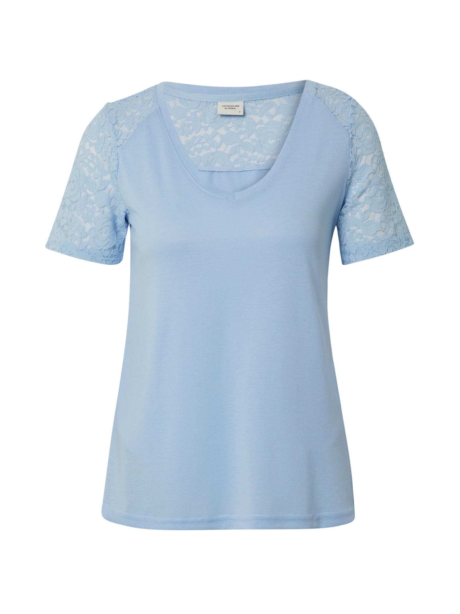 JACQUELINE de YONG Tricou 'STINNE'  albastru fum