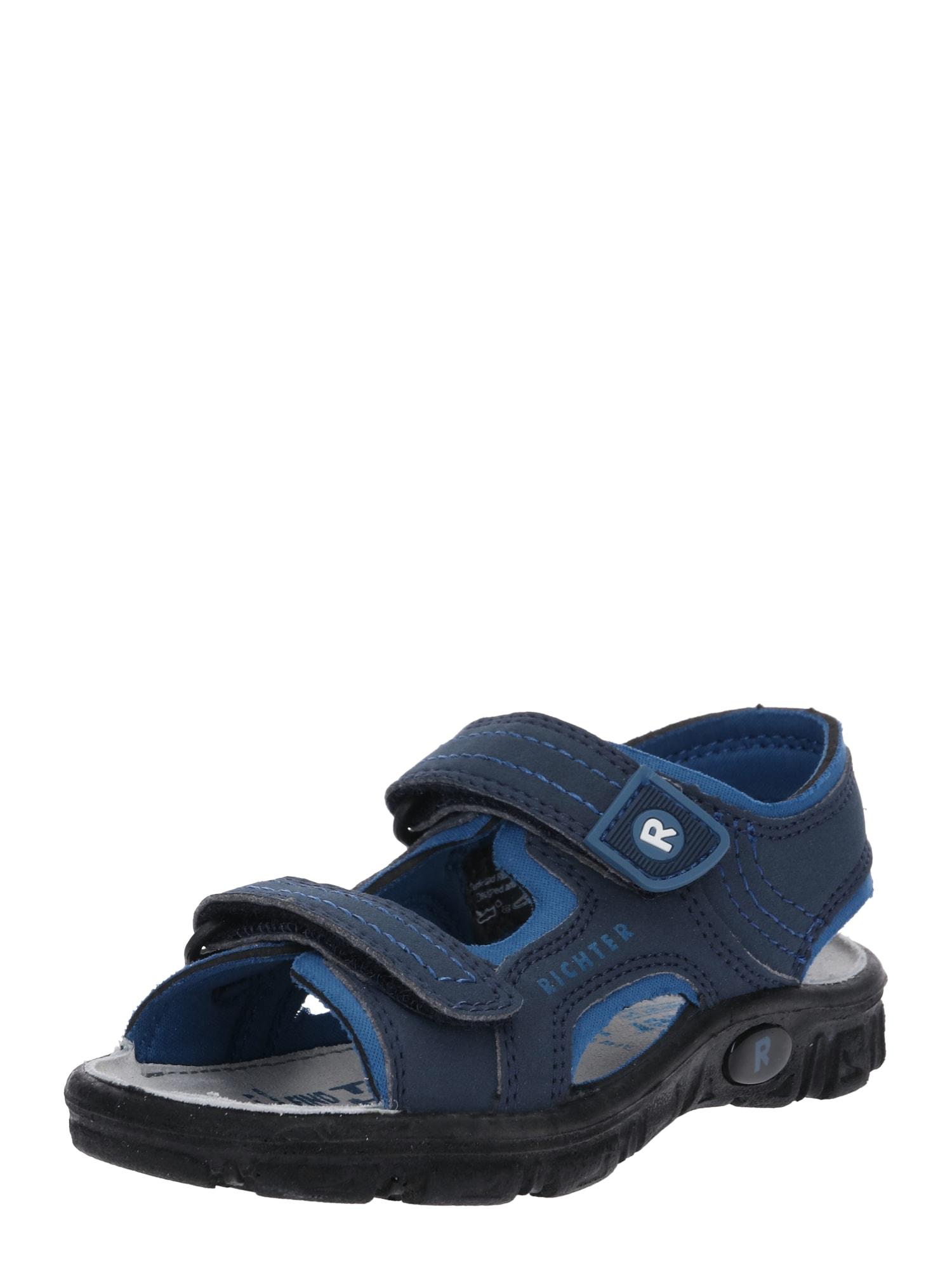 Otevřená obuv modrá RICHTER