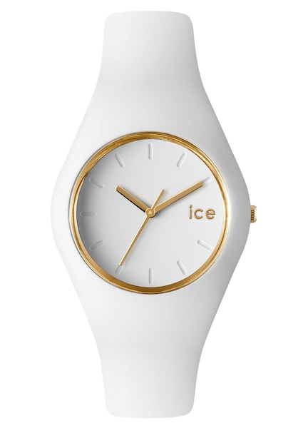 Uhren für Frauen - ICE WATCH Armbanduhr 'ICE GLAM, ICE.GL.WE.U.S.13' gold weiß  - Onlineshop ABOUT YOU