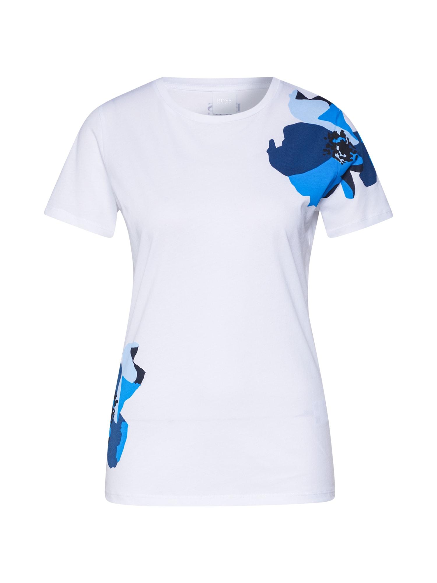 BOSS Marškinėliai 'Tebloom' balta