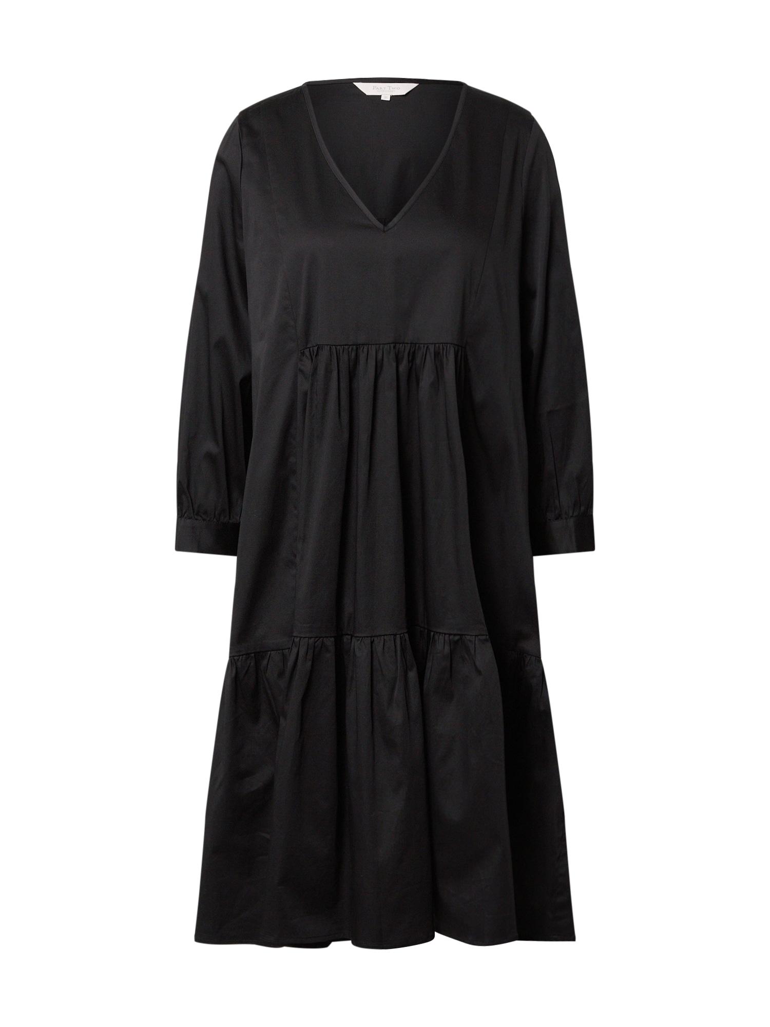 Part Two Šaty 'Viktorine'  čierna