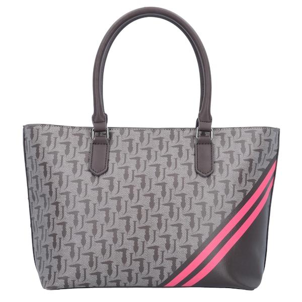 Shopper - Shopper 'Vaniglia' › Trussardi Jeans › grau dunkelgrau pink  - Onlineshop ABOUT YOU