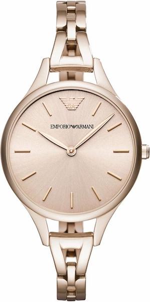 Uhren für Frauen - Emporio Armani Armbanduhr rosegold  - Onlineshop ABOUT YOU