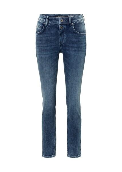 Hosen für Frauen - Marc O'Polo Boyfriend Jeans 'Theda' blue denim  - Onlineshop ABOUT YOU