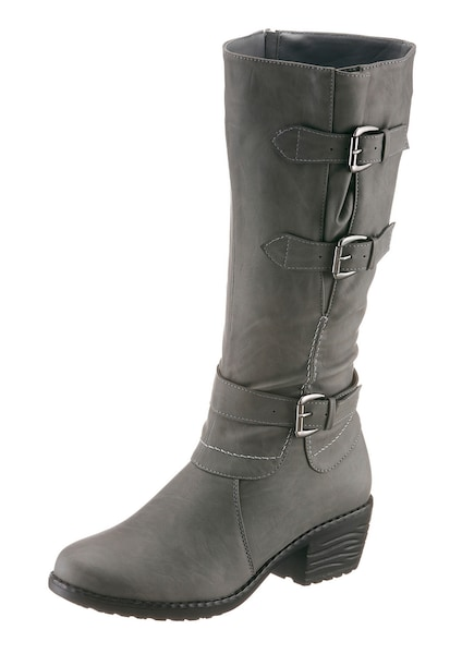 Stiefel - Stiefel › CITY WALK › grau  - Onlineshop ABOUT YOU