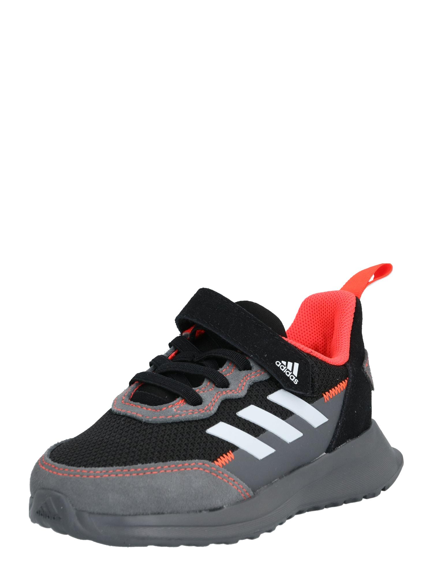 ADIDAS PERFORMANCE Športová obuv  oranžová / čierna / sivá