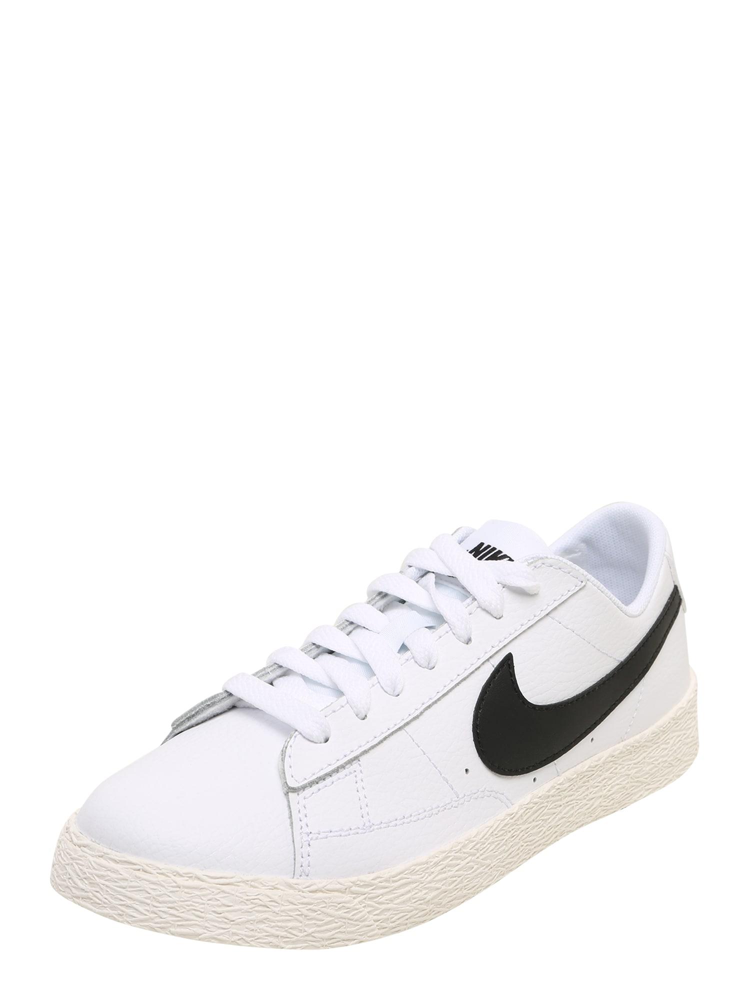 Nike Sportswear Sportbačiai juoda / balta