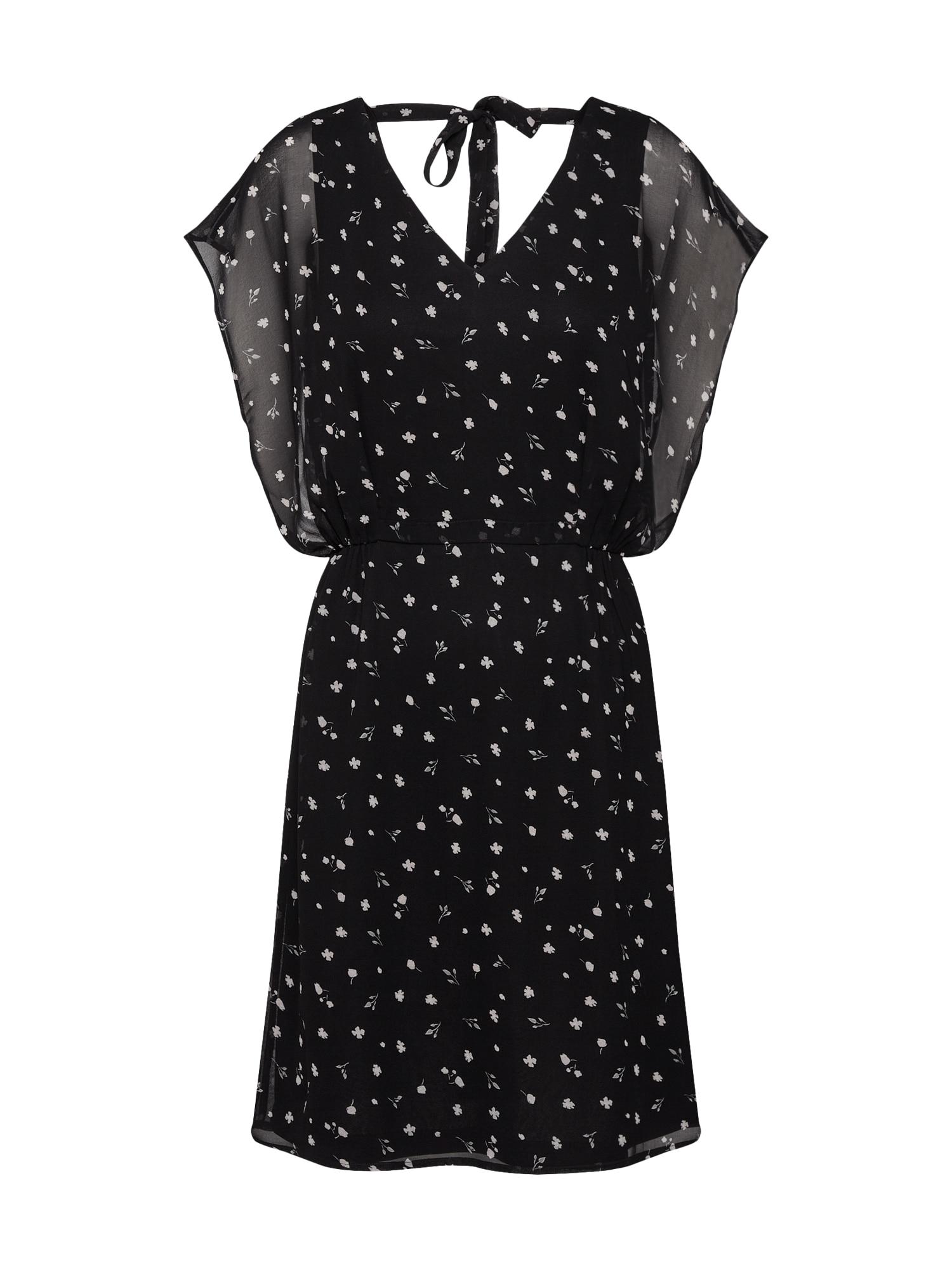 Letní šaty Tatjana černá ABOUT YOU