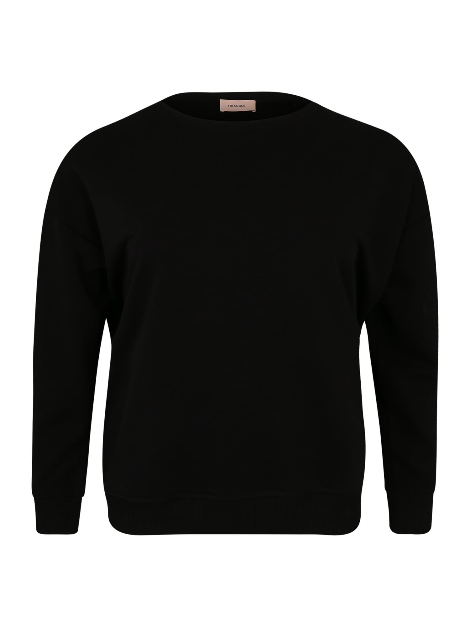 TRIANGLE Megztinis be užsegimo juoda