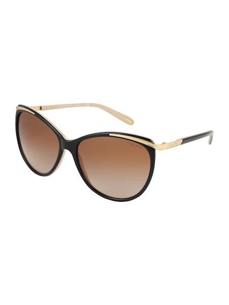 Sonnenbrillen für Frauen - RALPH LAUREN Sonnenbrille gold schwarz  - Onlineshop ABOUT YOU