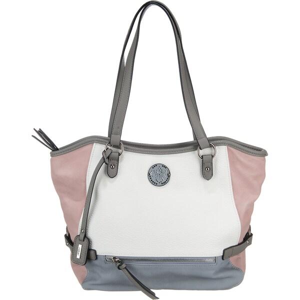 Shopper für Frauen - RIEKER Shopper rauchblau grau rosa weiß  - Onlineshop ABOUT YOU