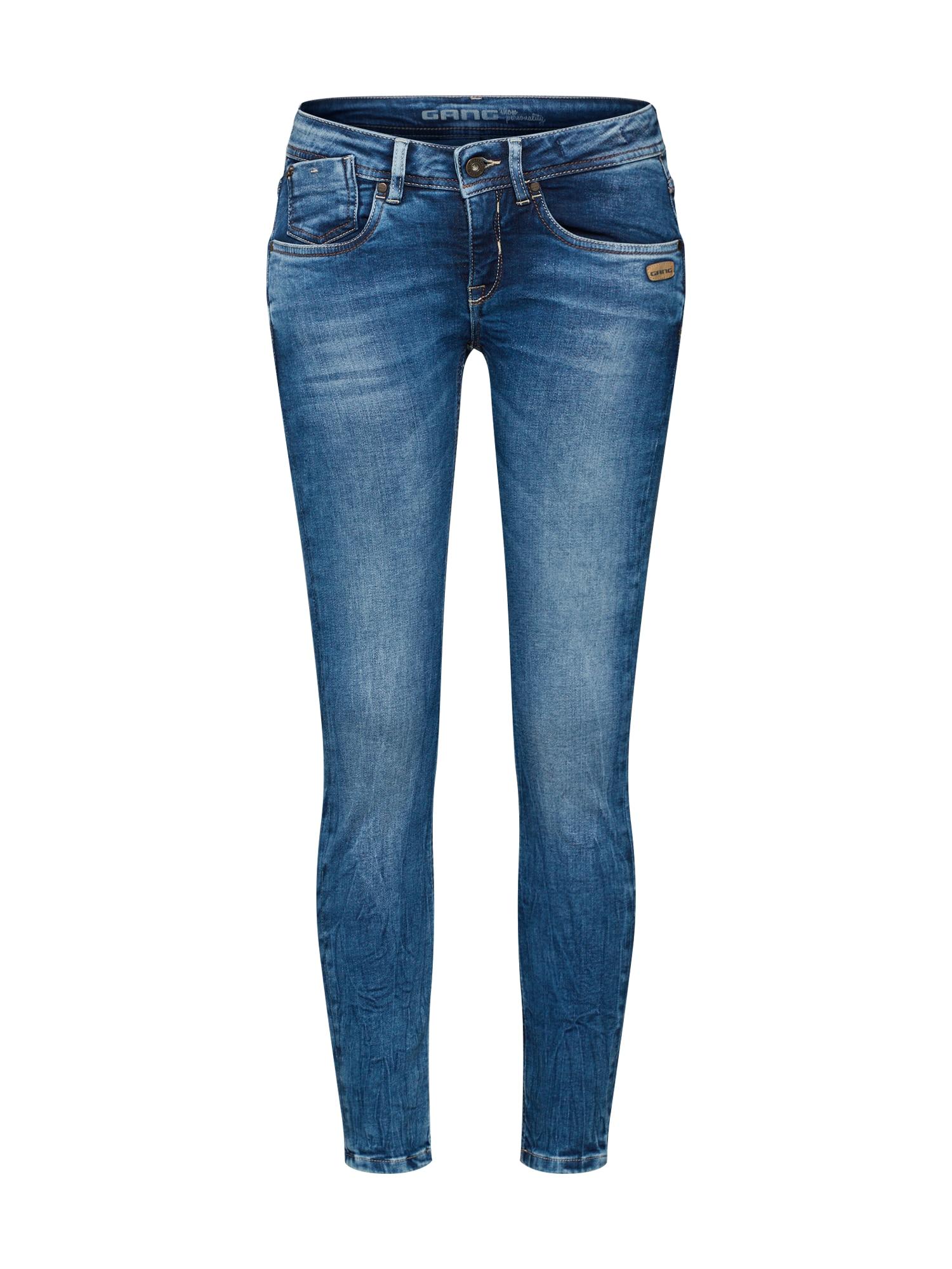 Gang Džinsai tamsiai (džinso) mėlyna