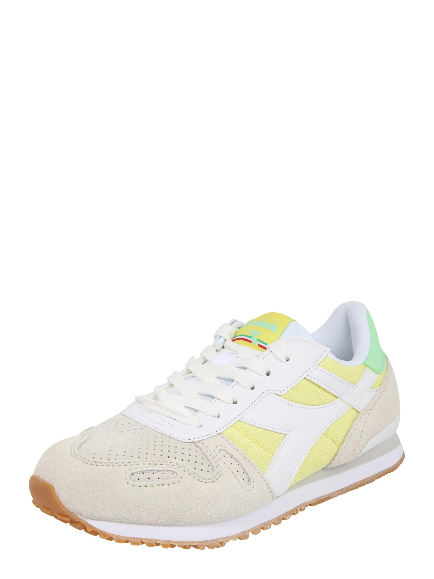 Diadora Sportiniai batai 'TITAN WN SOFT' citrinos spalva / balta