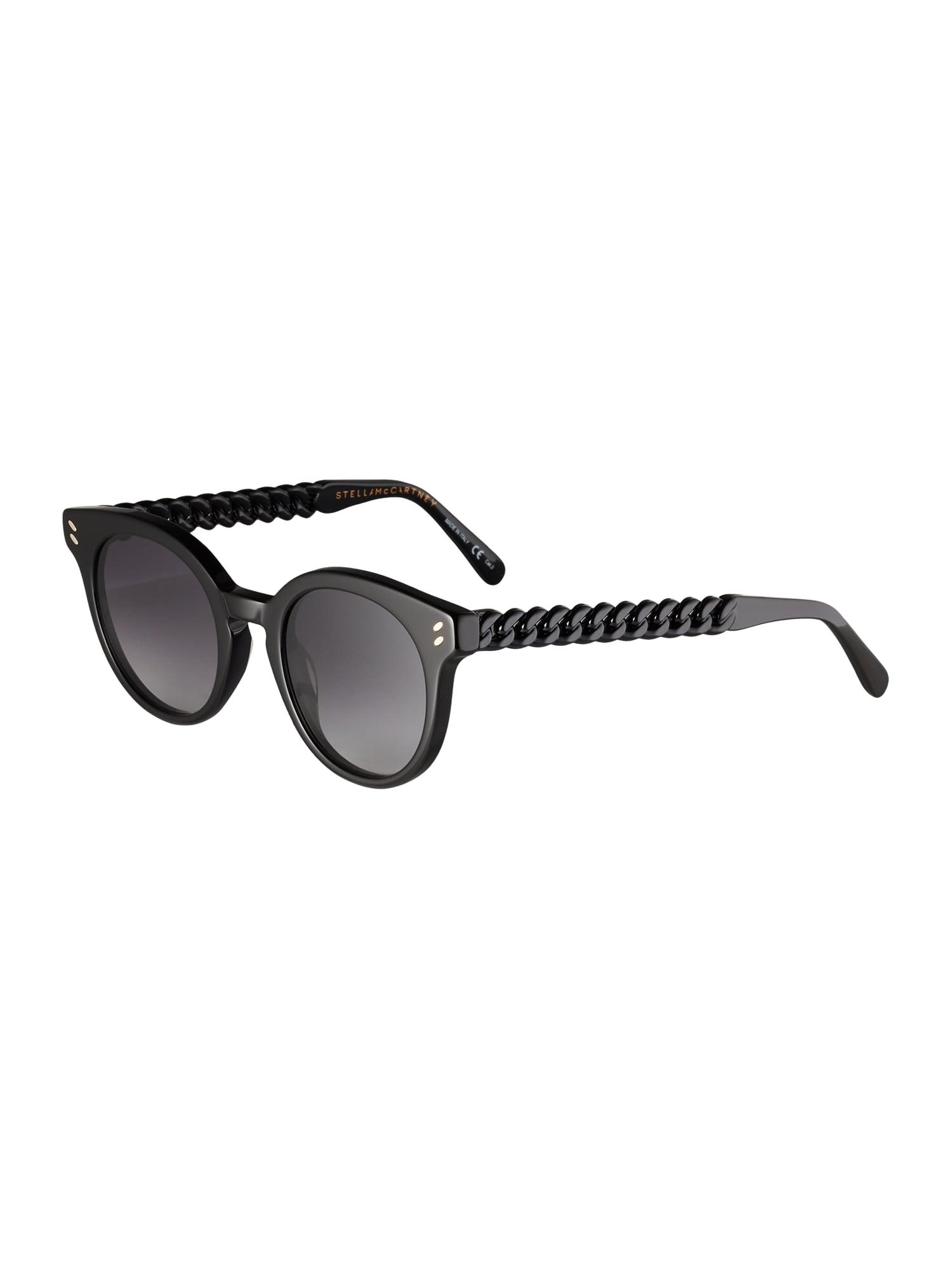 Stella McCartney Sluneční brýle 'SC0234S-001'  černá / šedá