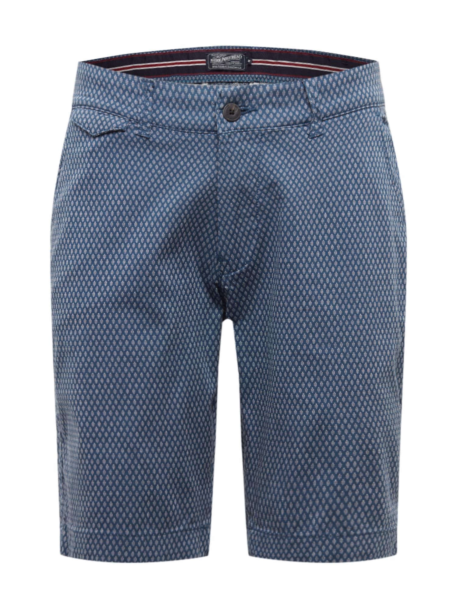 Petrol Industries Chino stiliaus kelnės mėlyna