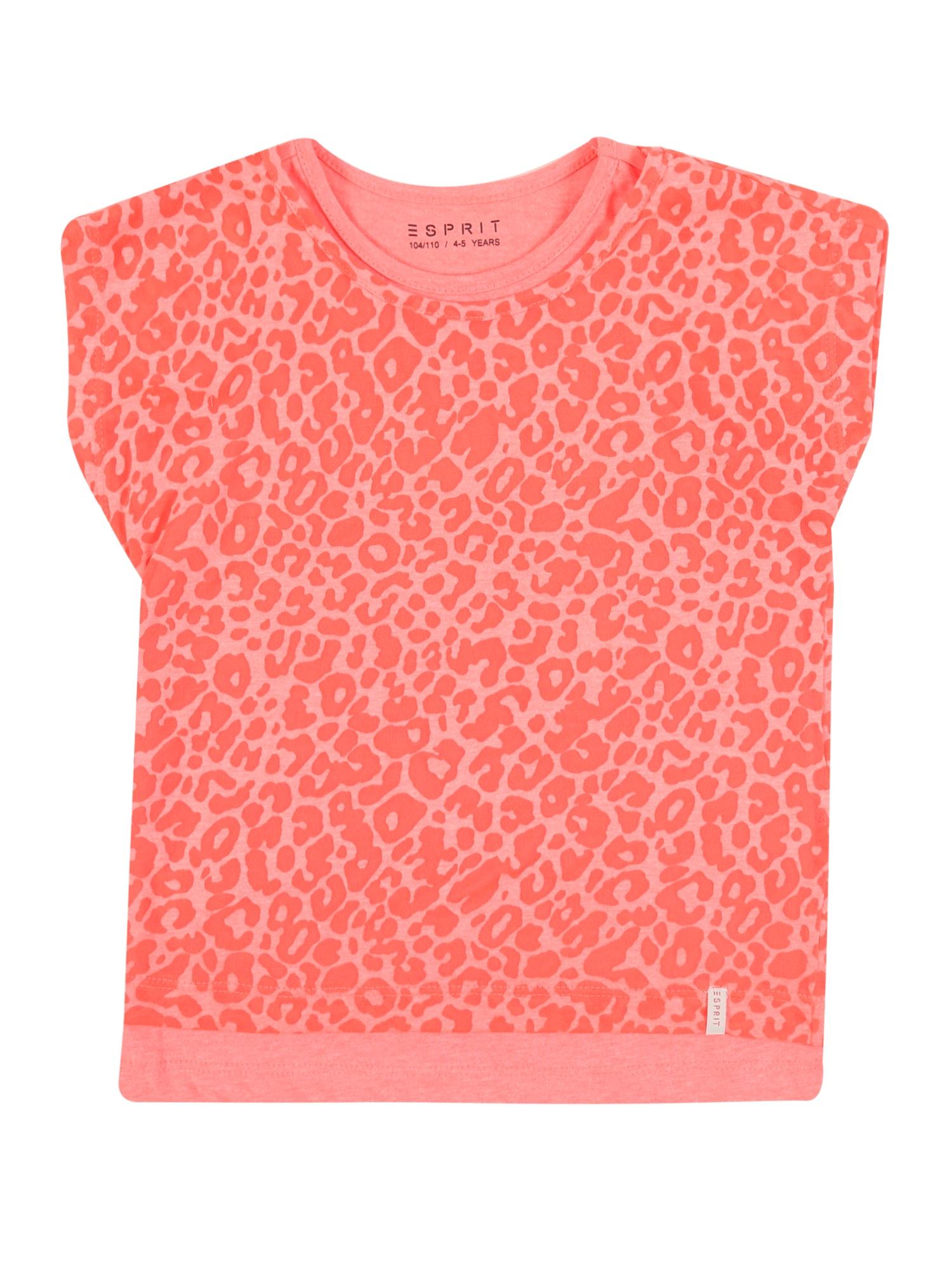 ESPRIT Marškinėliai 'RQ1044303' koralų splava