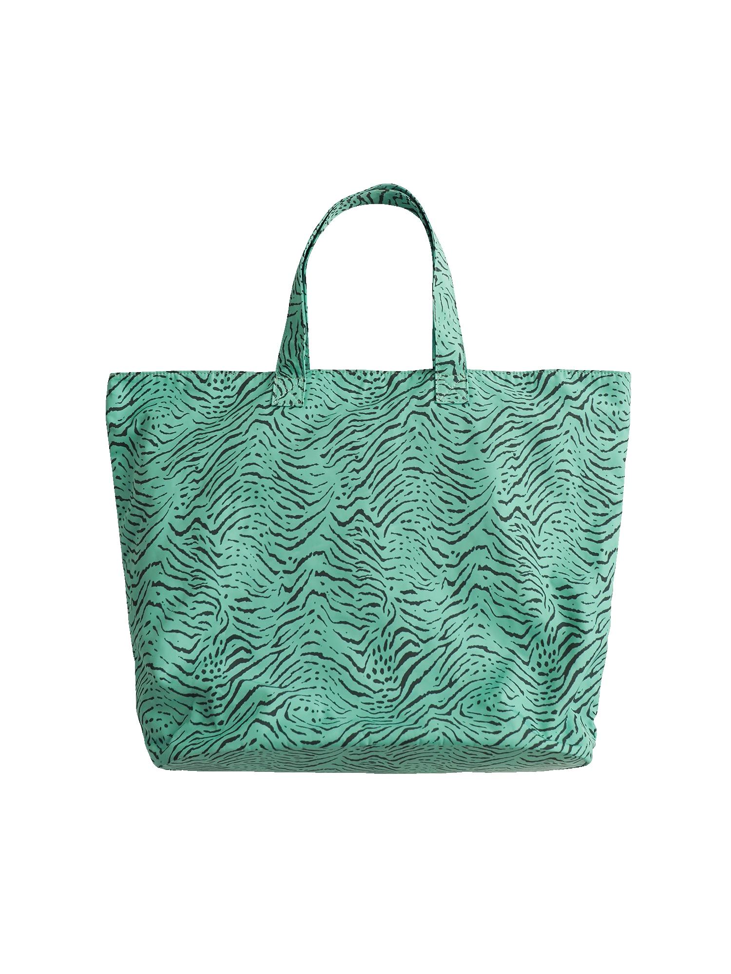 EDITED Pirkinių krepšys 'Samiah' žalia / juoda