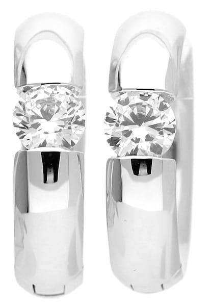 Ohrringe für Frauen - ESPRIT Ohrringe Creolen Rhea ELCO91645A000 silber  - Onlineshop ABOUT YOU