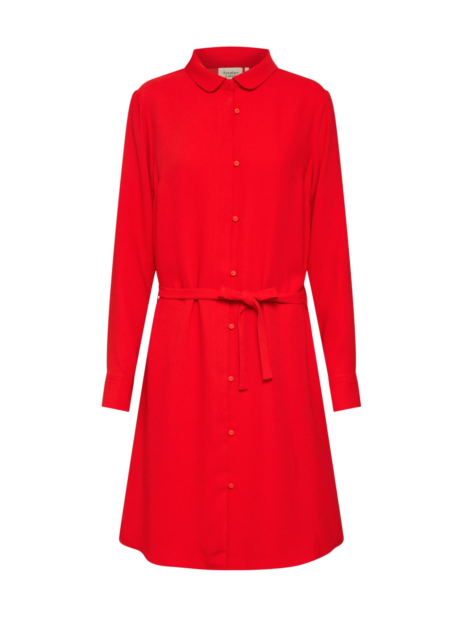 Košilové šaty Peck červená Another Label