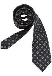 SEIDENSTICKER Herren Krawatte Schwarze Rose schwarz,weiß | 04048869346538