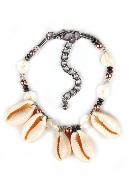 Armbaender - Armband › J. Jayz › apricot silber perlweiß  - Onlineshop ABOUT YOU