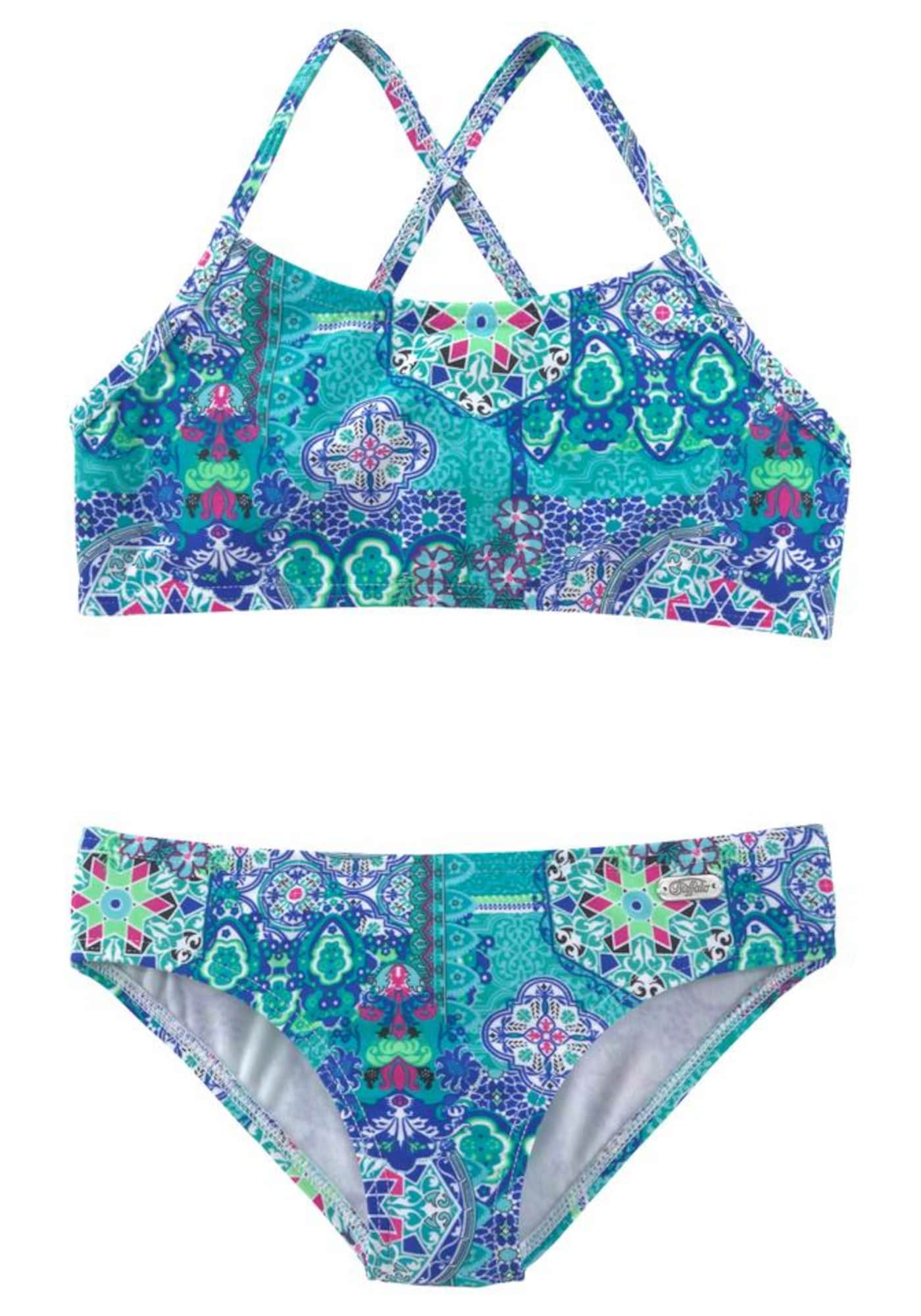BUFFALO Bikinis mėlyna / turkio spalva