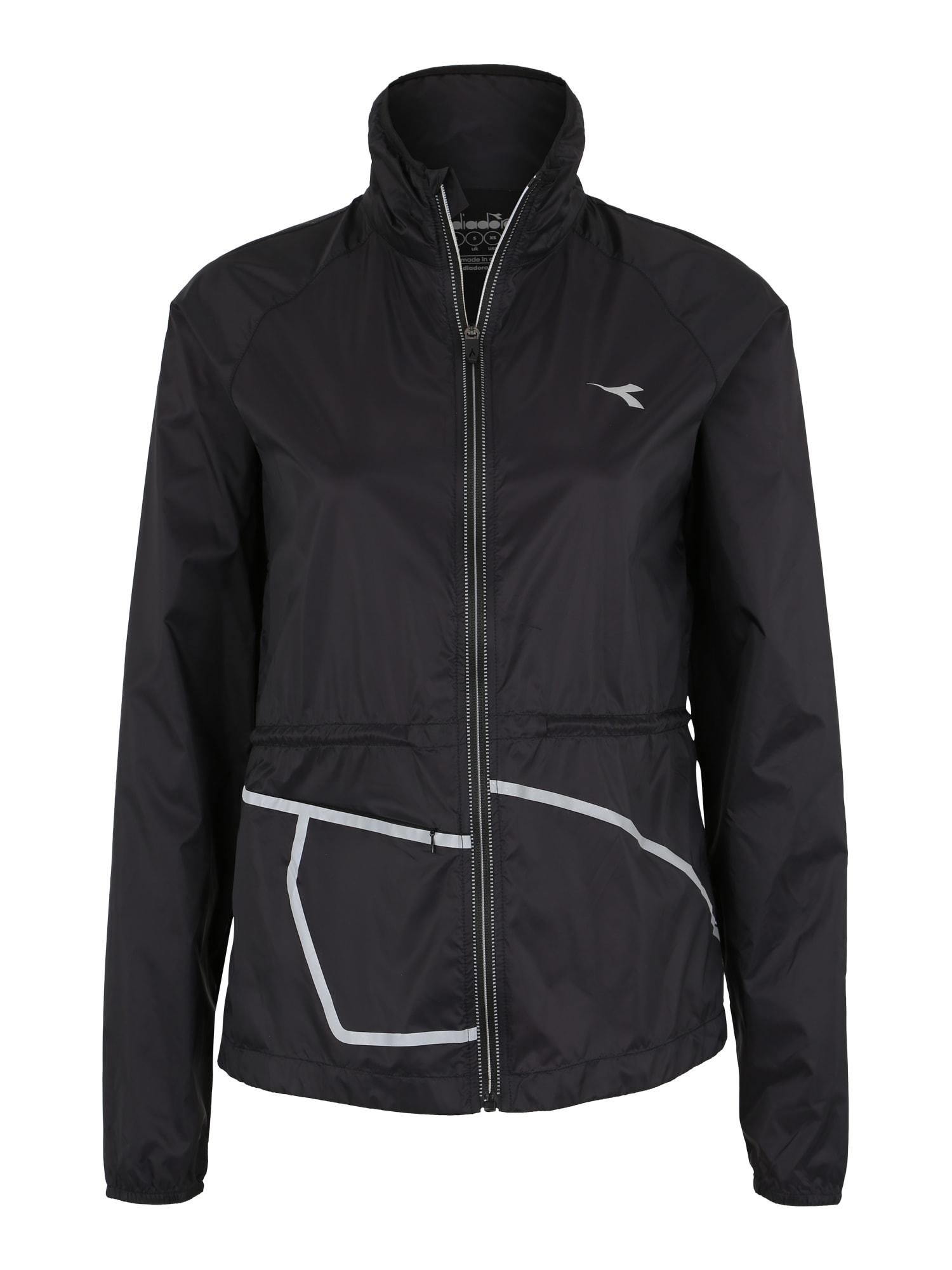 Outdoorová bunda černá Diadora