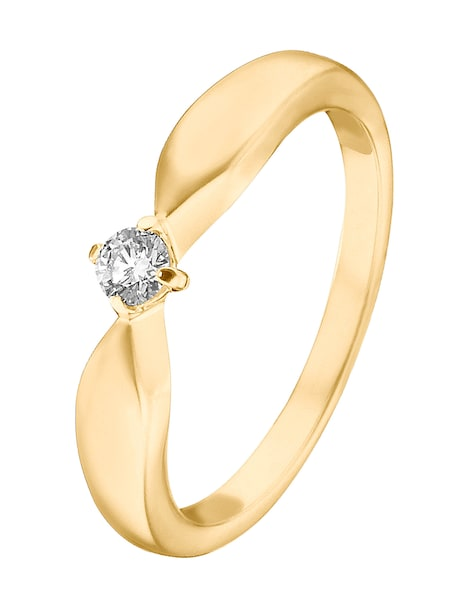 Ringe für Frauen - CHRIST Ring '60049742' gold  - Onlineshop ABOUT YOU
