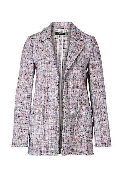 Jacken für Frauen - HALLHUBER Bouclé Blazer mischfarben  - Onlineshop ABOUT YOU