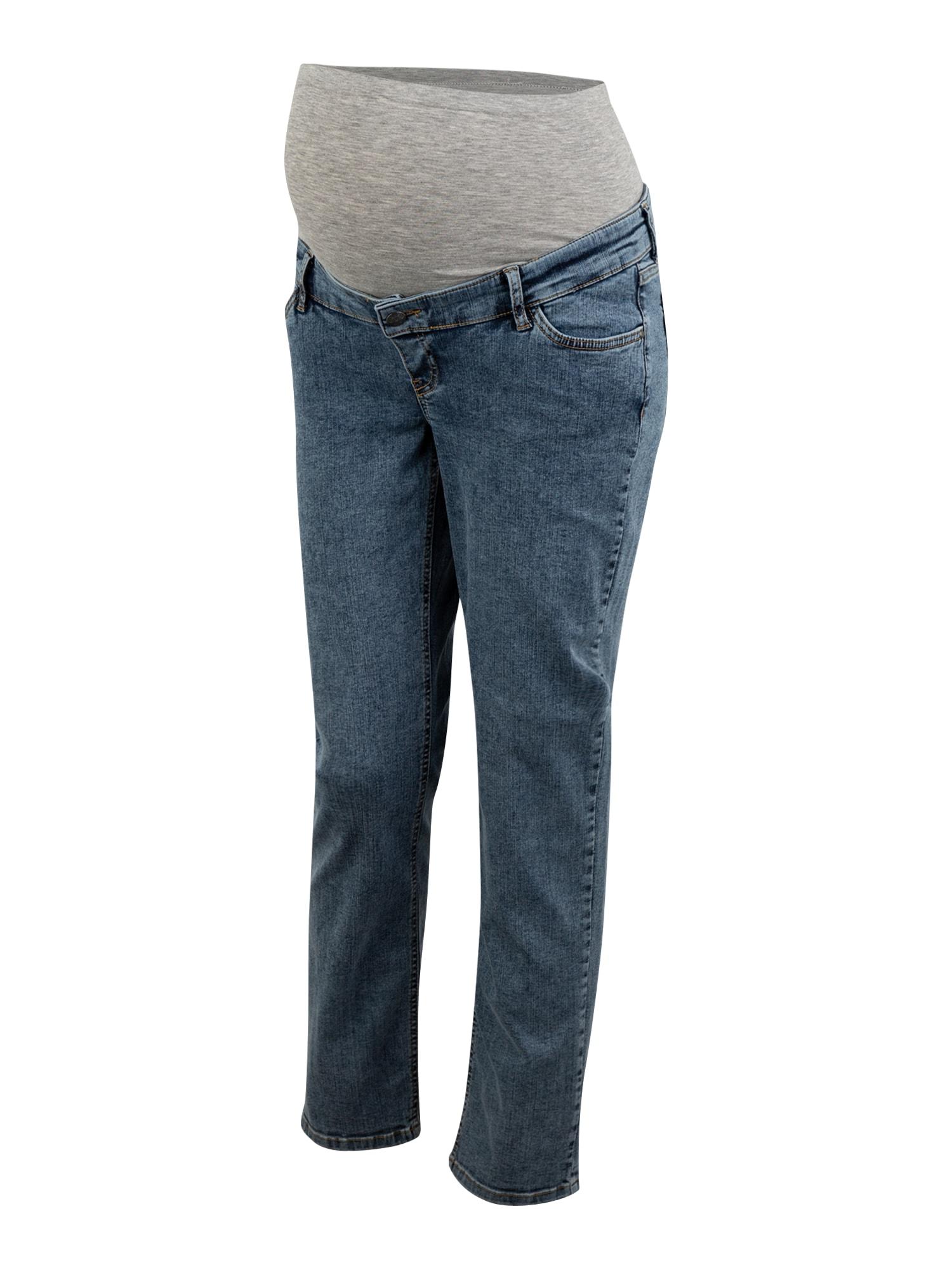 MAMALICIOUS Džinsai tamsiai (džinso) mėlyna