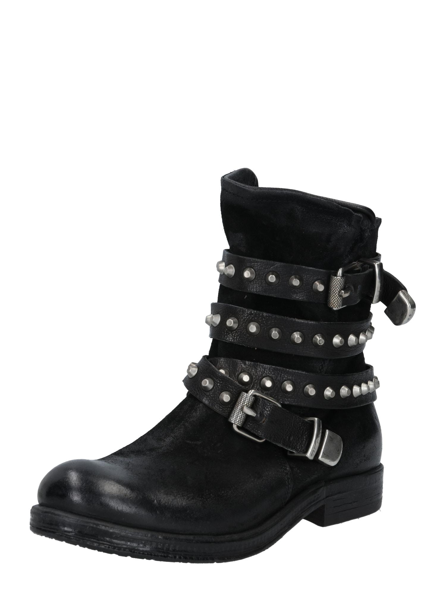 A.S.98 Auliniai batai sidabrinė / juoda