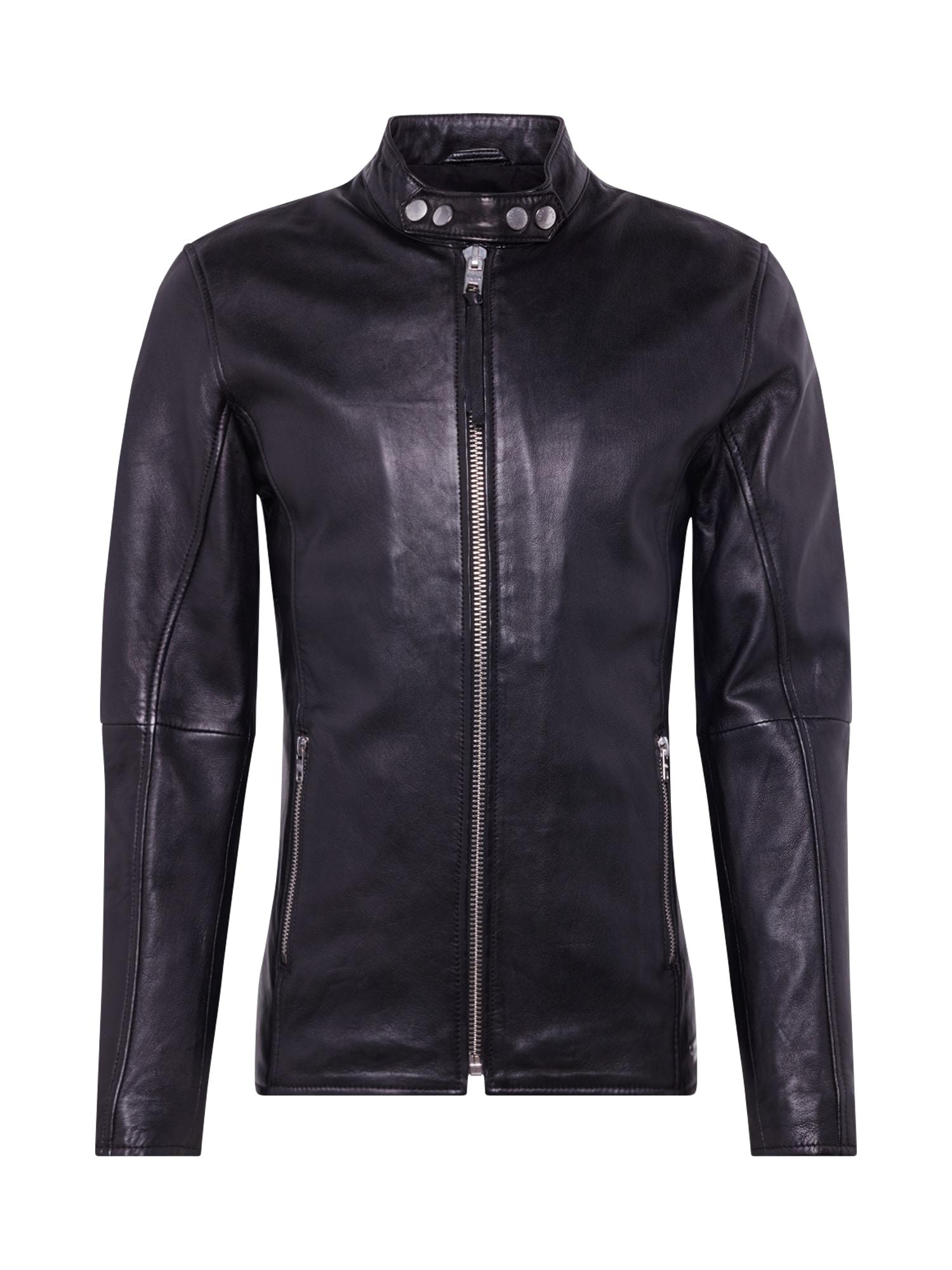 tigha Prechodná bunda 'Arnulf'  čierna