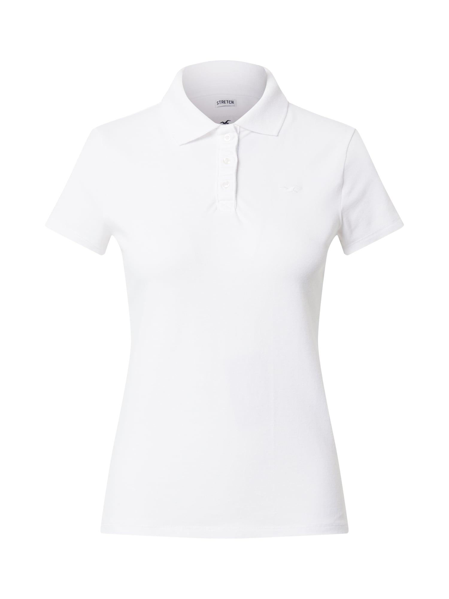 HOLLISTER Tričko  bílá