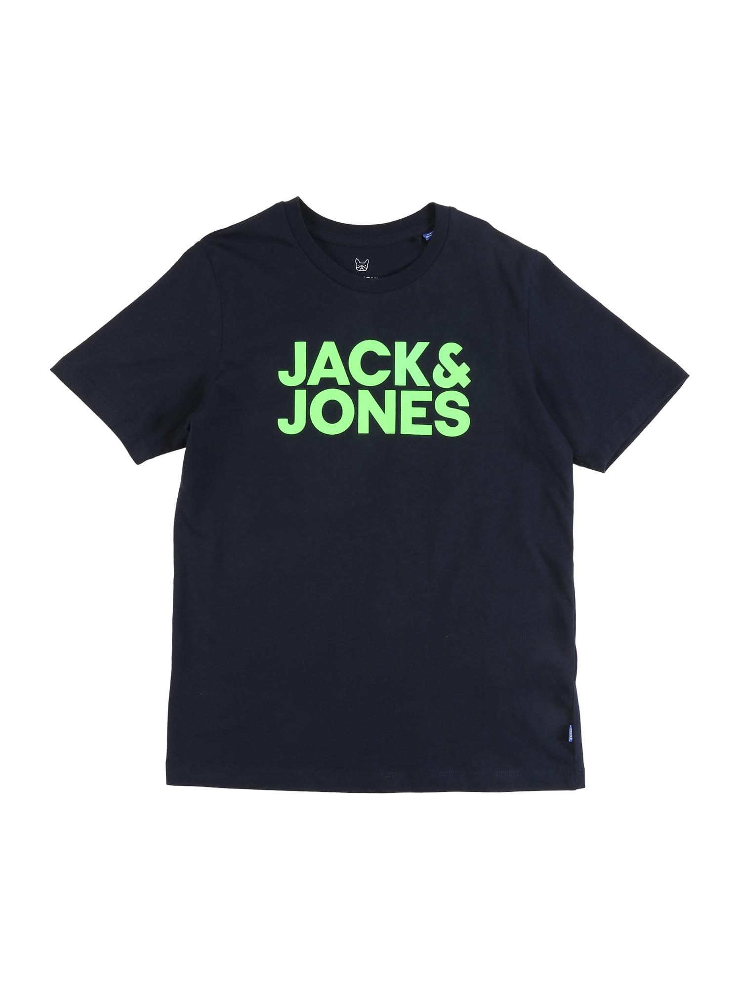Jack & Jones Junior Marškinėliai 'Bob' tamsiai mėlyna