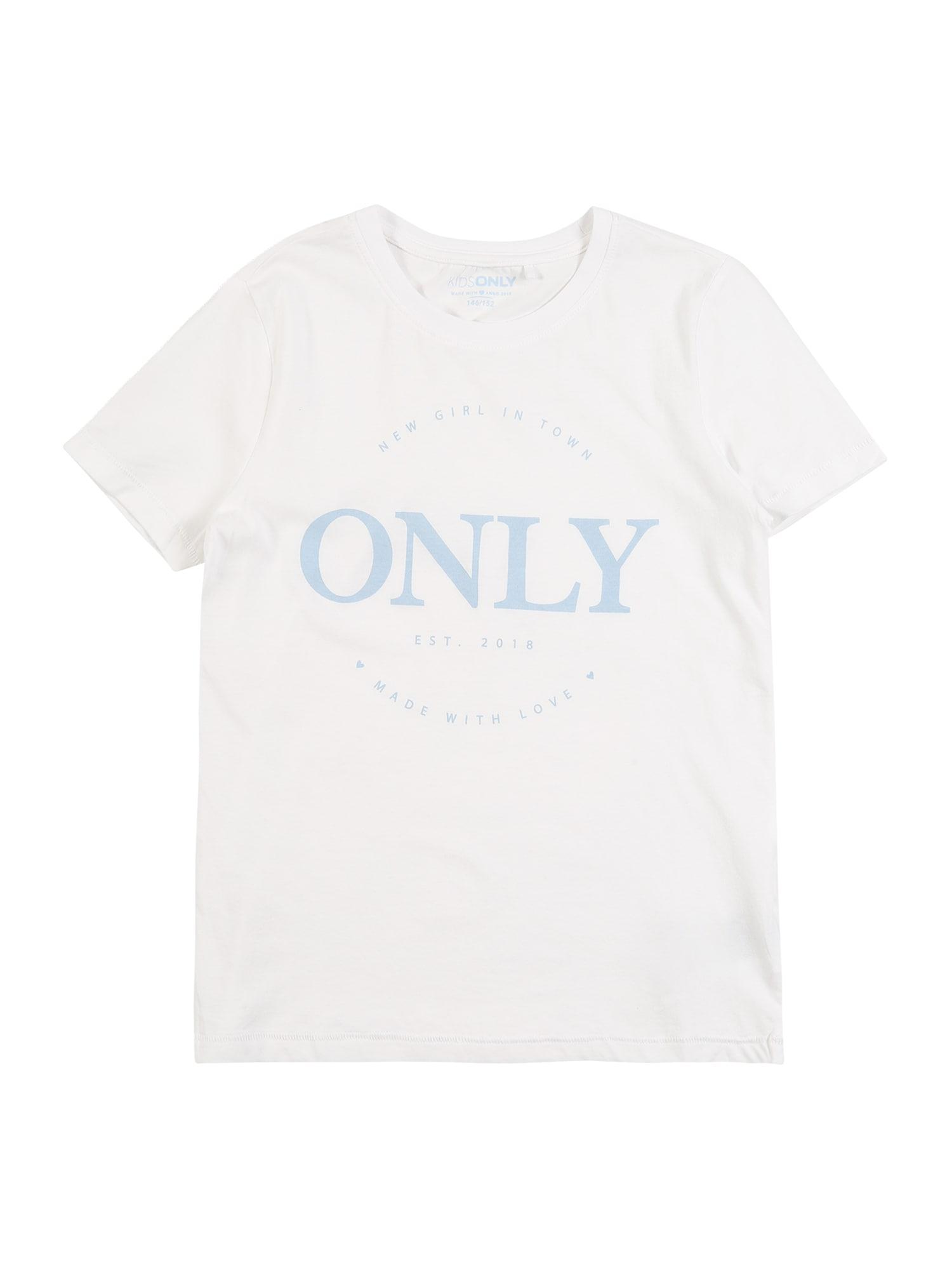 KIDS ONLY Marškinėliai 'KONLOGO' balta