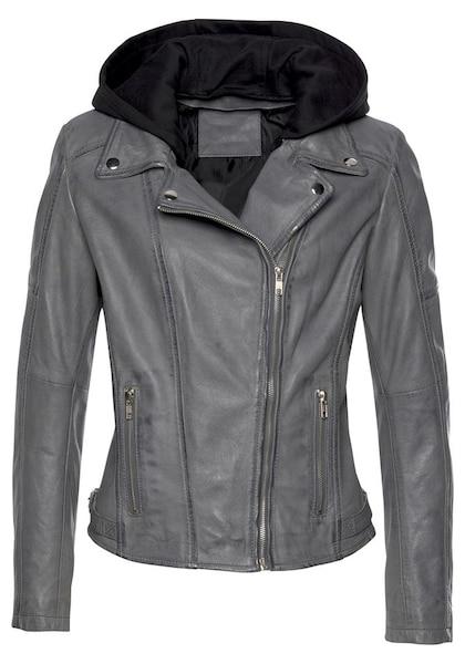 Jacken für Frauen - AJC Lederjacke grau  - Onlineshop ABOUT YOU