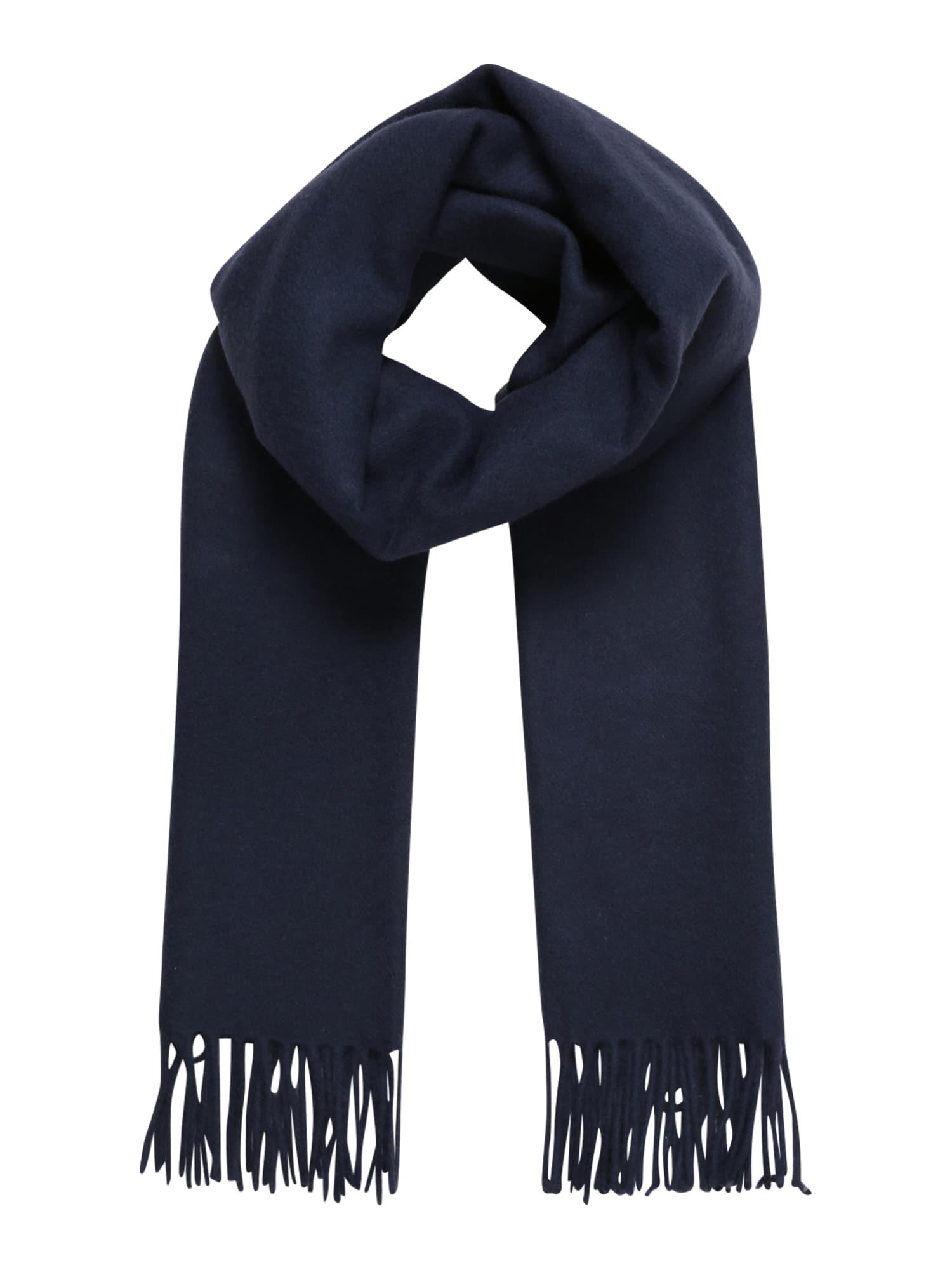 Samsoe Samsoe Šalikas 'Efin scarf 2862' tamsiai mėlyna