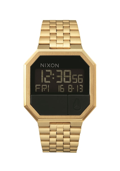 Uhren für Frauen - Nixon Armbanduhr 'Re Run' gold schwarz  - Onlineshop ABOUT YOU